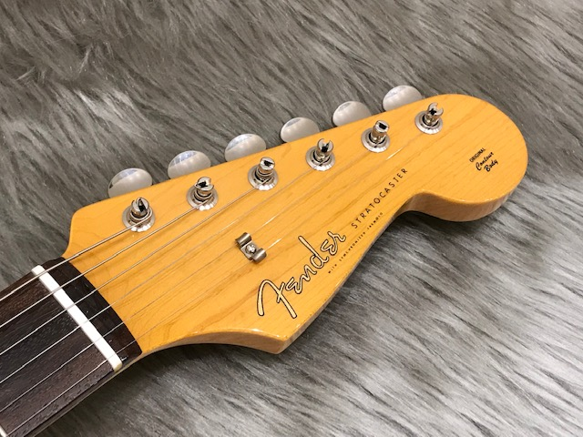 MADE IN JAPAN TRADITIONAL 60S STRATOCASTERのヘッド画像