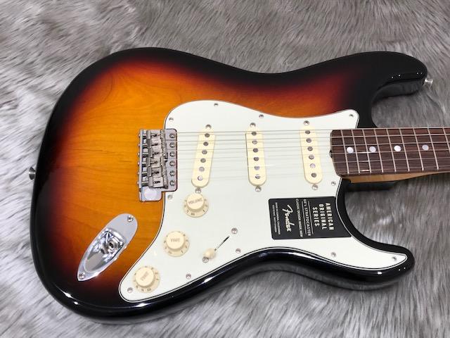 American Original '60s Stratocasterのボディトップ-アップ画像