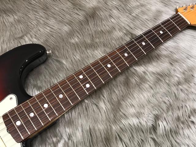 American Original '60s Stratocasterの指板画像