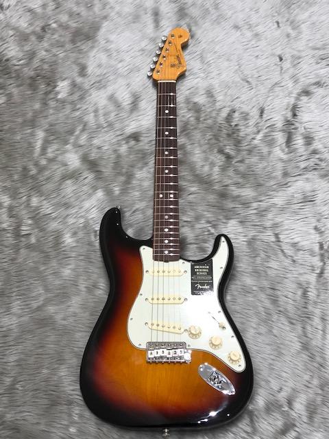 American Original '60s Stratocasterの全体画像(縦)