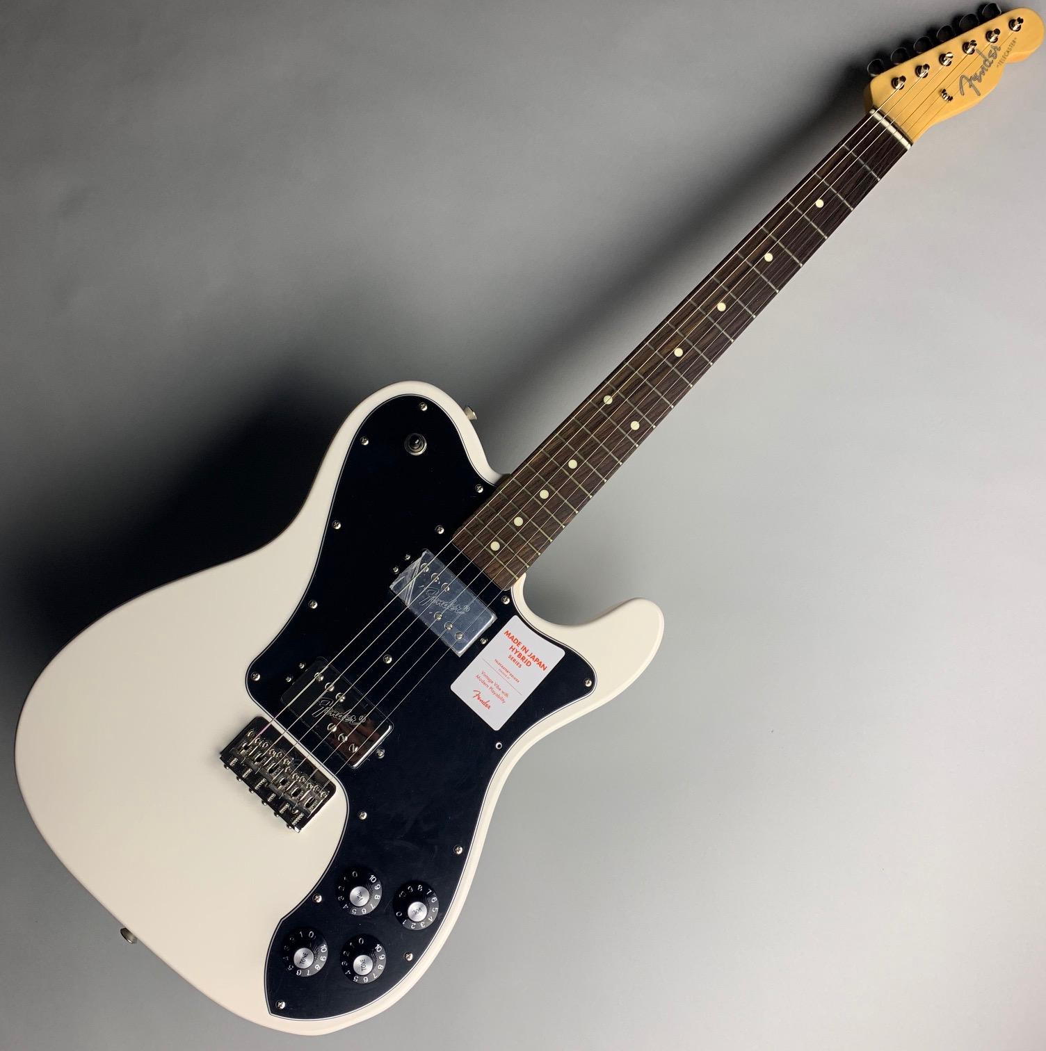 Fender Japan  HYBRID TELE DLX SHAW RW 写真画像