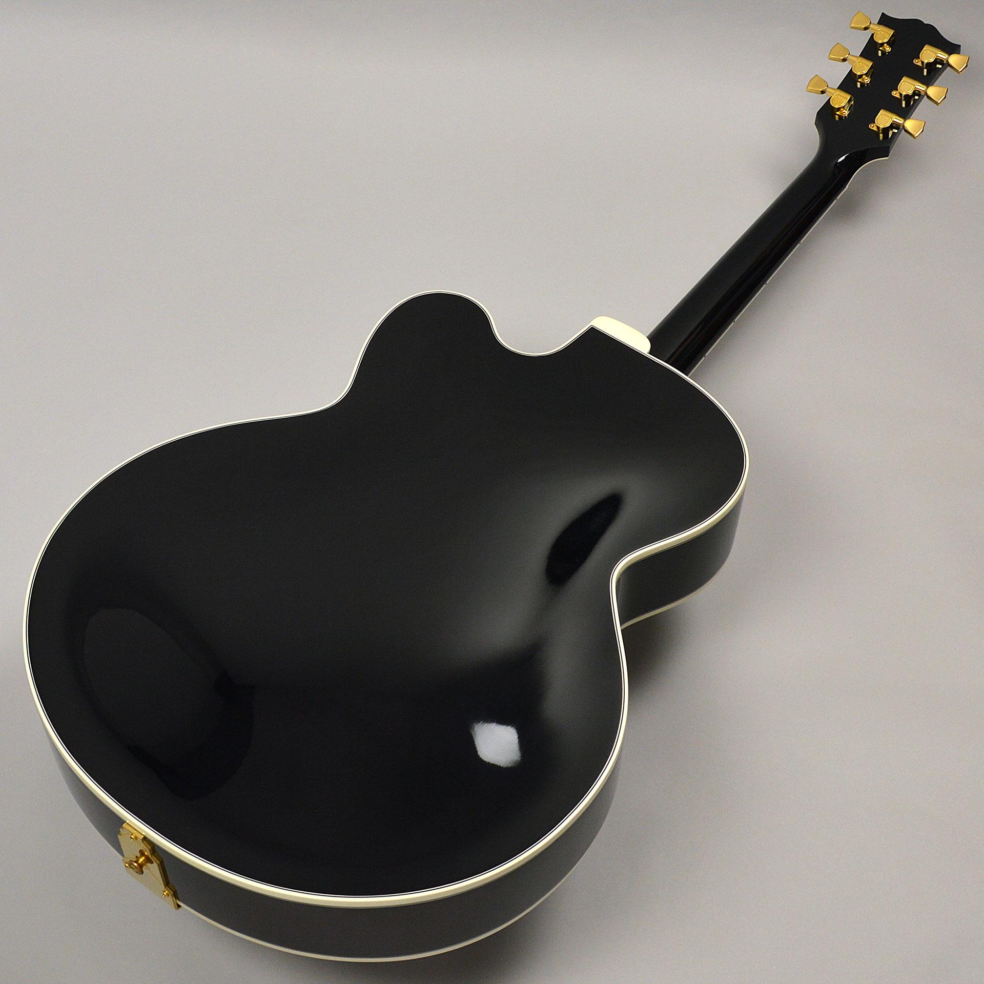 【中古】Gibson Custom Wes Montgomery Ebonyのボディバック-アップ画像