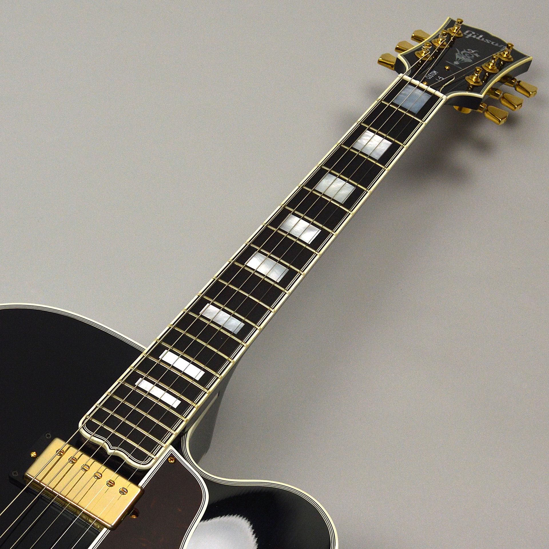 【中古】Gibson Custom Wes Montgomery Ebonyの指板画像