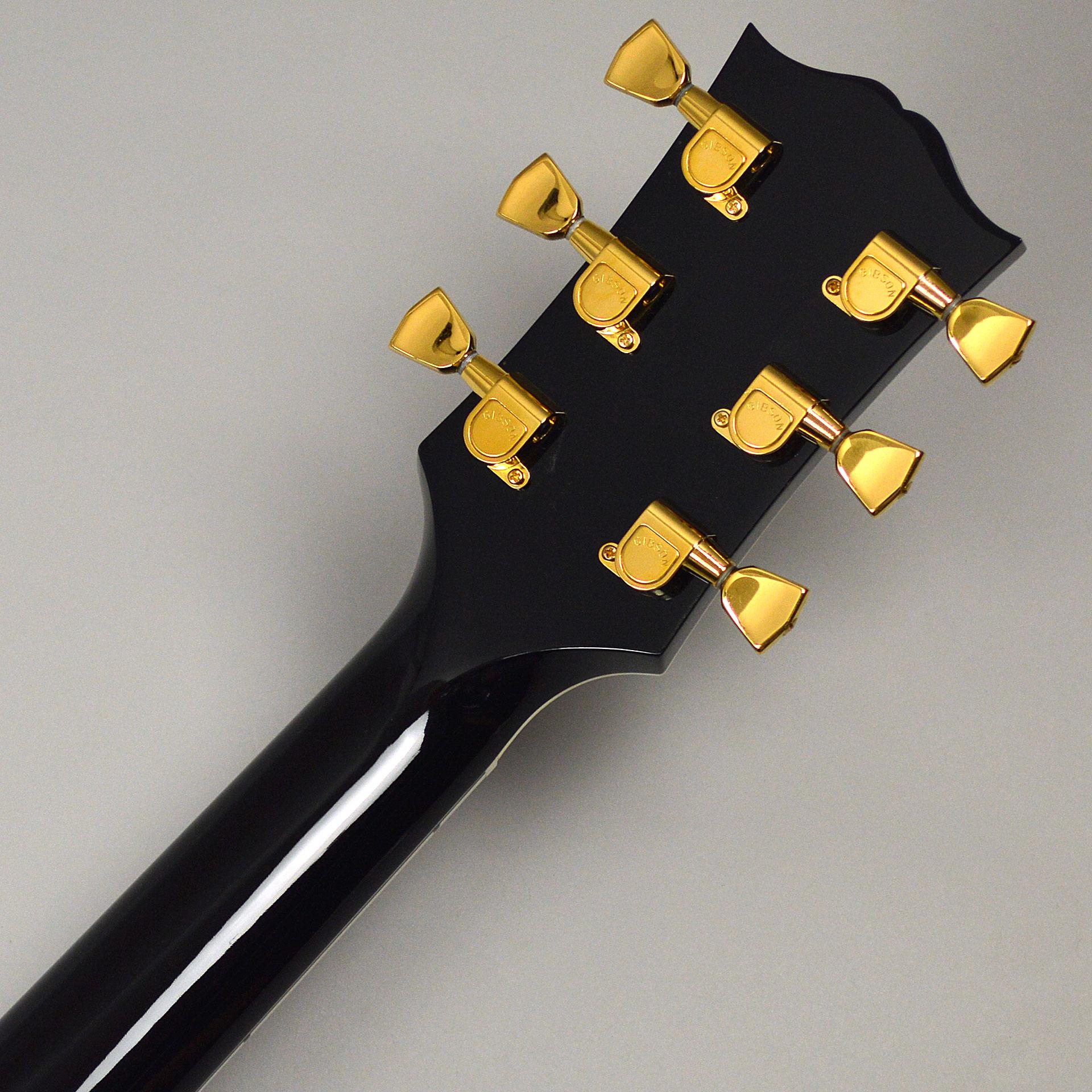 【中古】Gibson Custom Wes Montgomery Ebonyのヘッド裏-アップ画像
