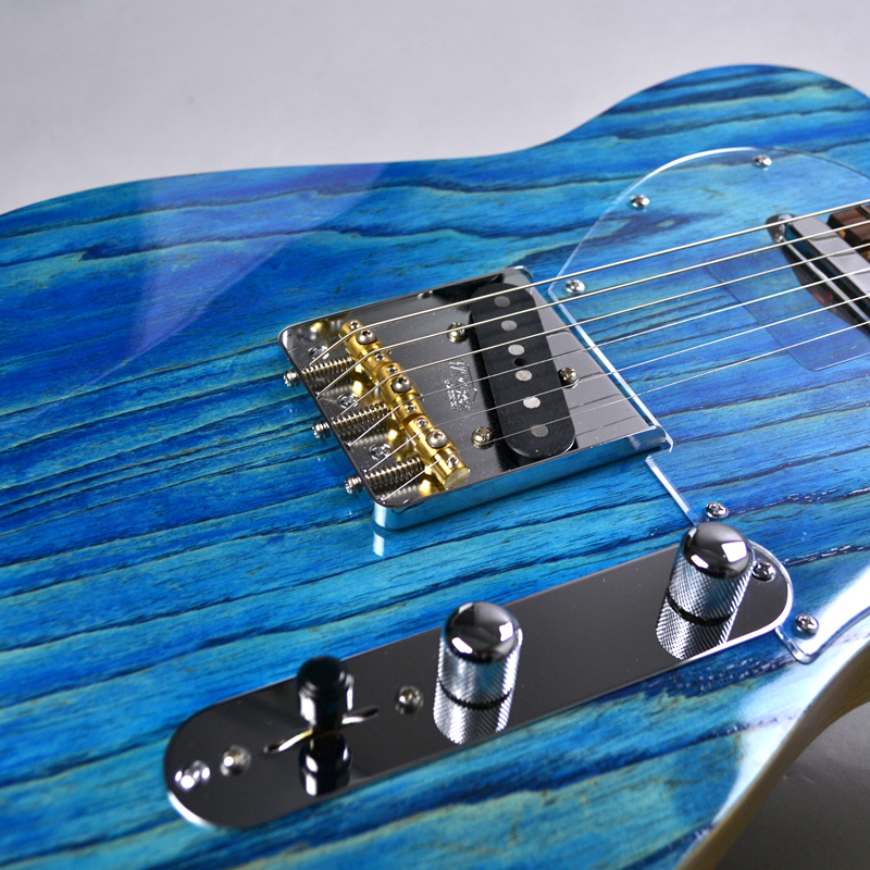 Trad T Hollow Faded Blueの指板画像
