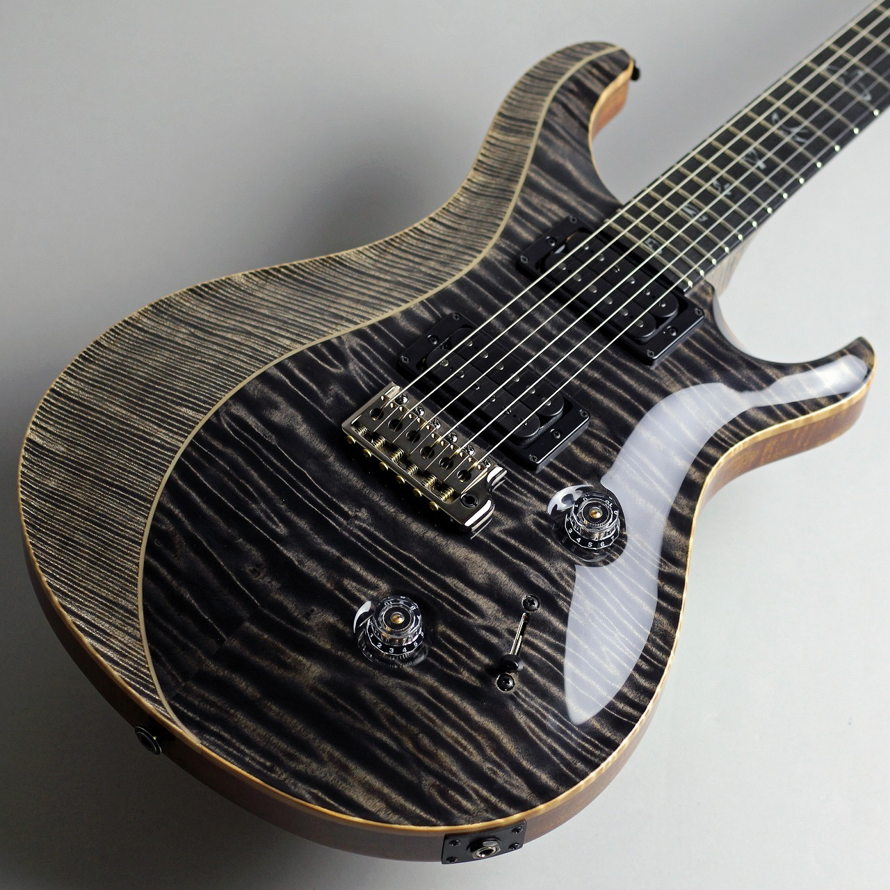 Private Stock #7660 Custom24 Quilted and Curly Maple Top w/ Luminlays Purfling【プレイ動画有り】のケース・その他画像