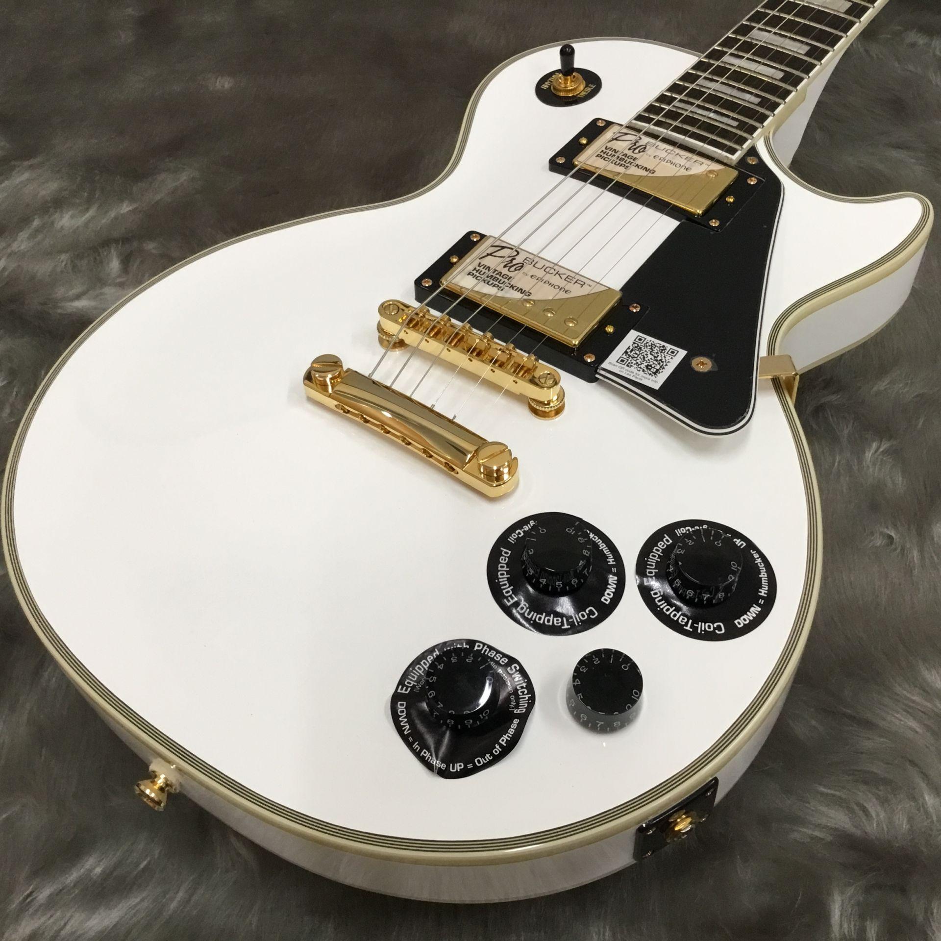 Les Paul Custom PRO Alpine White