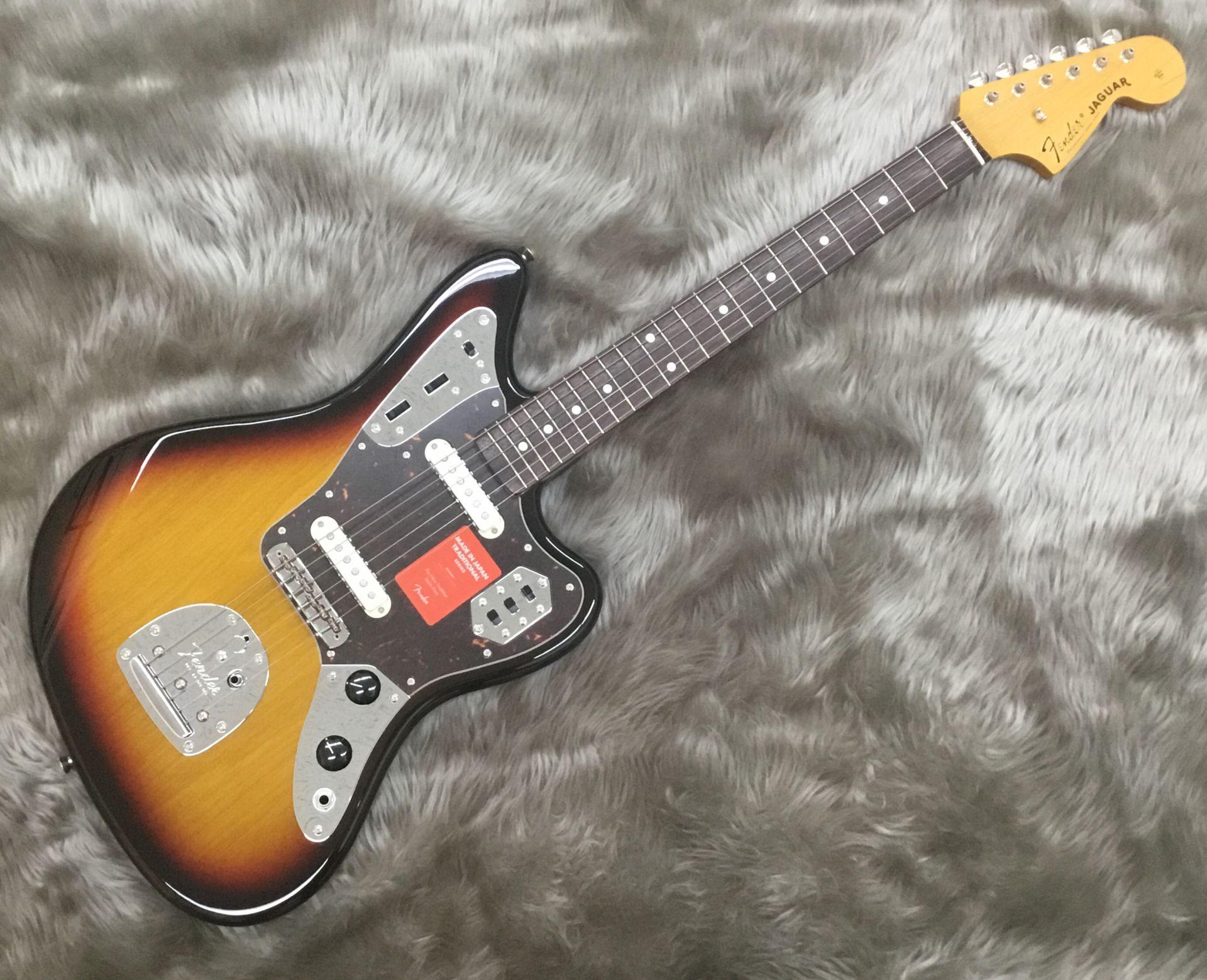 Fender  Traditional 60s Jaguar 3TSB 写真画像