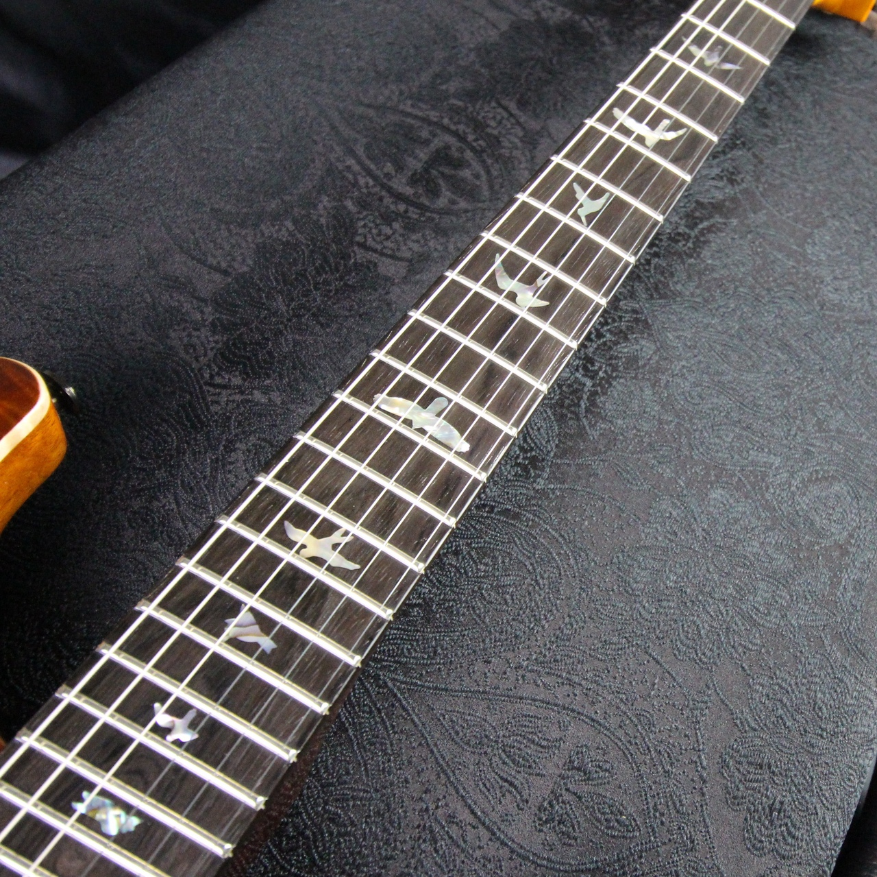 Private Stock Modern Eagle V Limited/McCarty Glowの指板画像