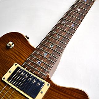Set Neck Custom Vintage Maple Burstの指板画像