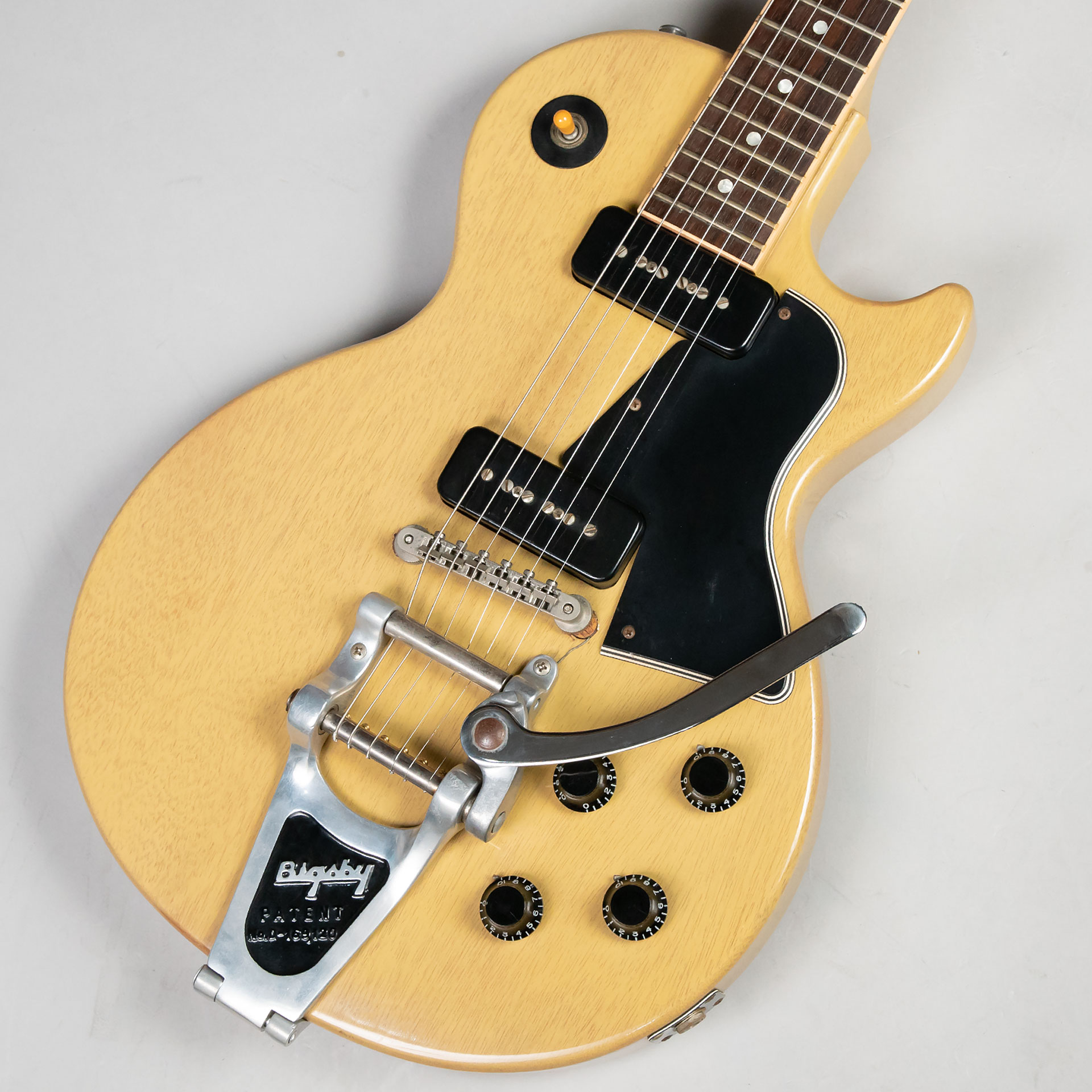 Historic Collection 1960 Les Paul Special w/Bigsby(改造品)のボディトップ-アップ画像