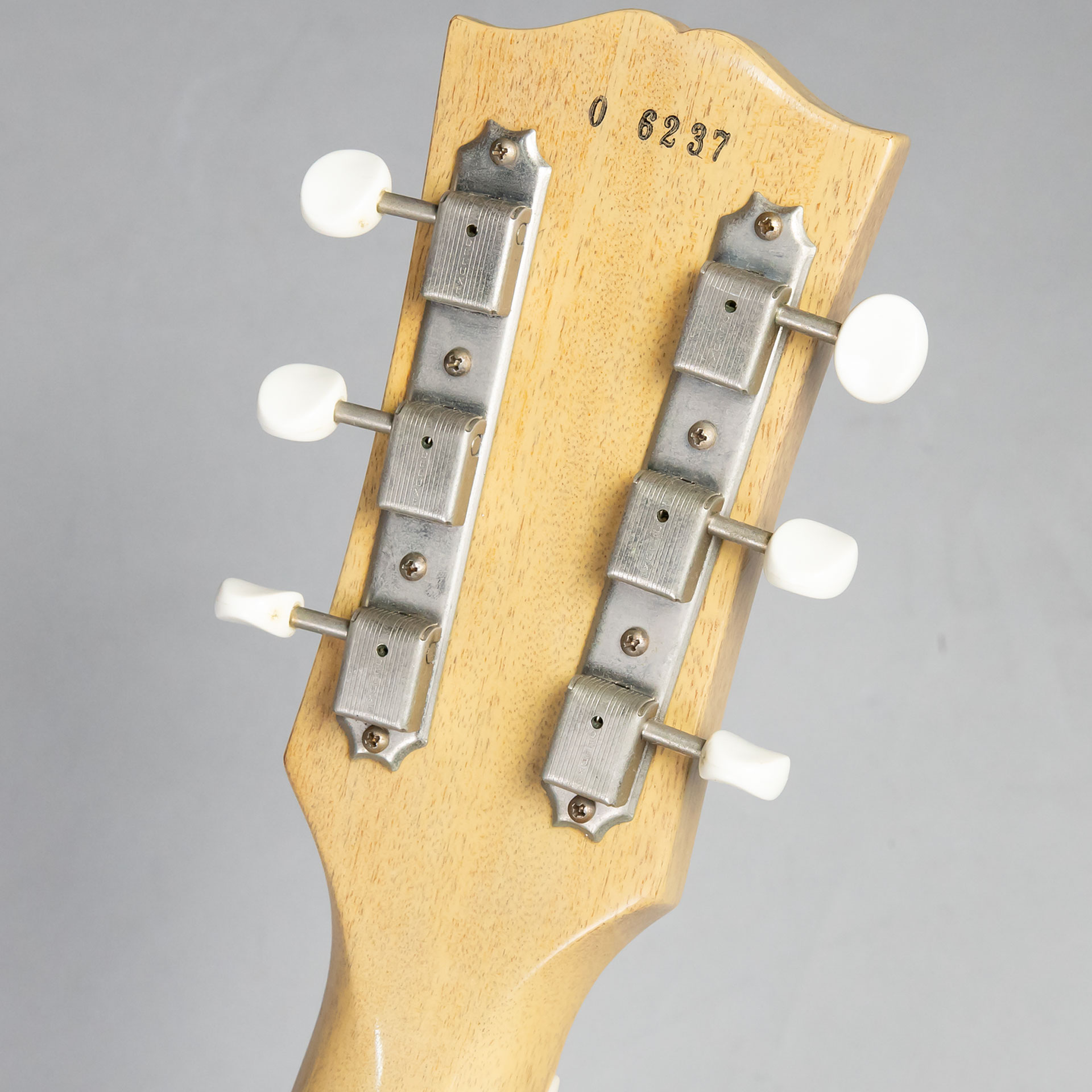 Historic Collection 1960 Les Paul Special w/Bigsby(改造品)のヘッド裏-アップ画像