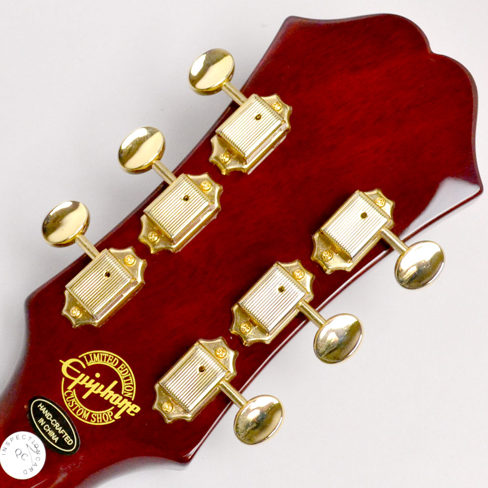 Riviera Custom P93 Wine Red【Limited】のヘッド裏-アップ画像
