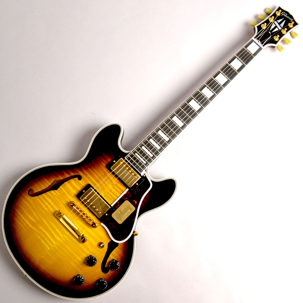 CS-356 Vintage Sunburst Figured Top Gold Hardwareの全体画像