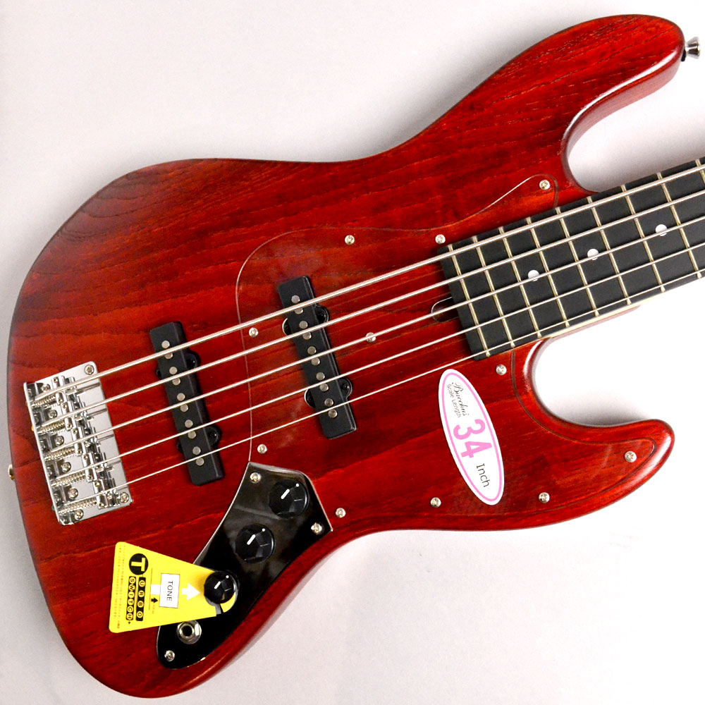 Global series WL-534S ASH RED OILのボディトップ-アップ画像