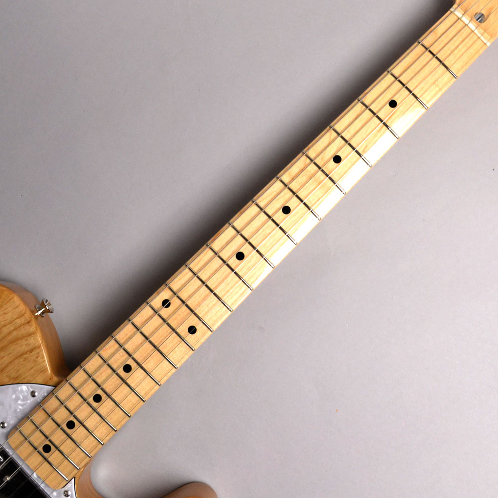 MADE IN JAPAN TRADITIONAL 70S TELECASTER THINLINE Naturalの指板画像