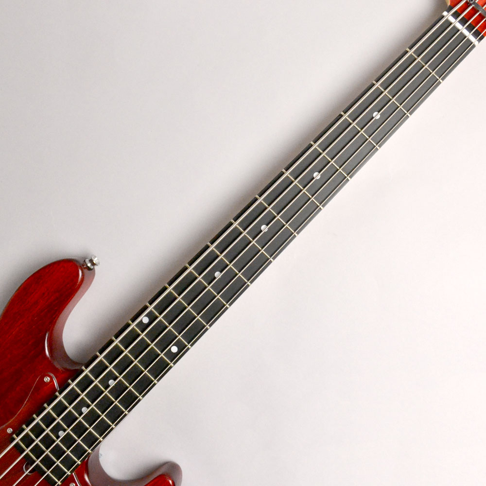 Global series WL-534S ASH RED OILの指板画像