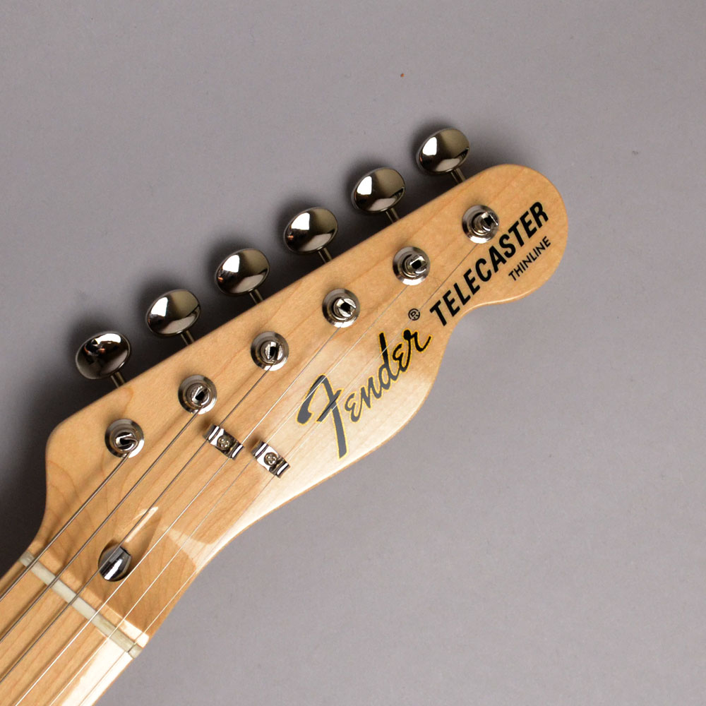 MADE IN JAPAN TRADITIONAL 70S TELECASTER THINLINE Naturalのヘッド画像