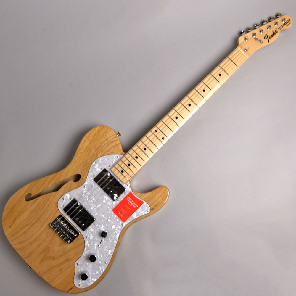 MADE IN JAPAN TRADITIONAL 70S TELECASTER THINLINE Natural