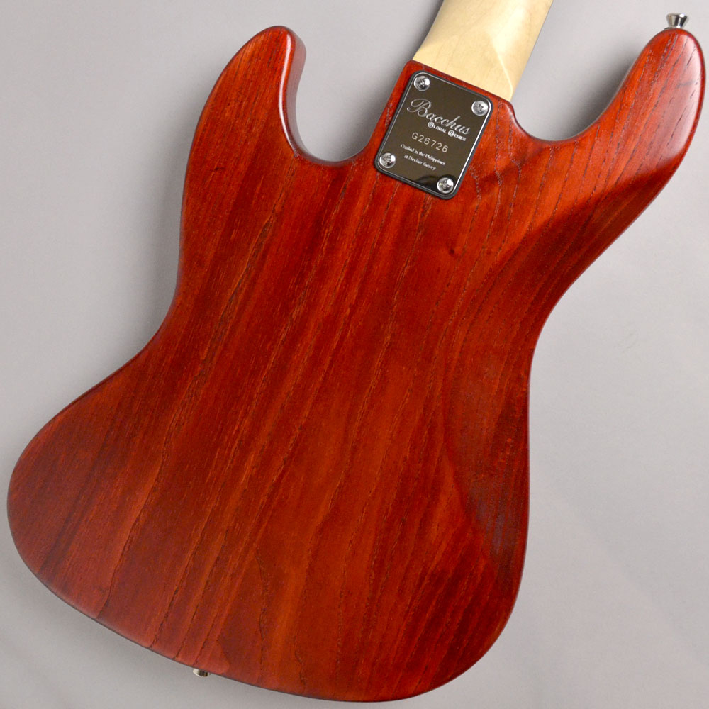 Global series WL-534S ASH RED OILのボディバック-アップ画像