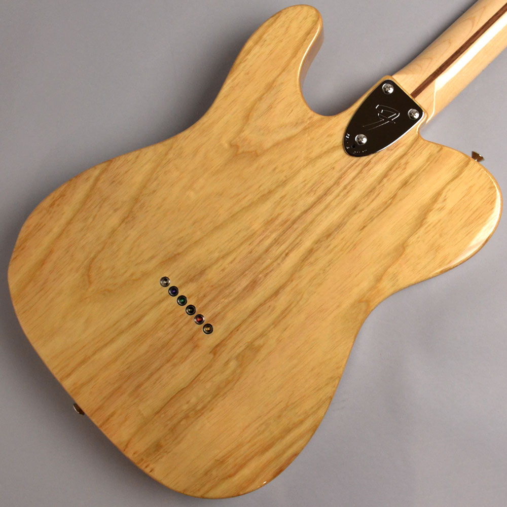 MADE IN JAPAN TRADITIONAL 70S TELECASTER THINLINE Naturalのボディバック-アップ画像