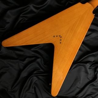 LTD Korina FlyingVのヘッド裏-アップ画像