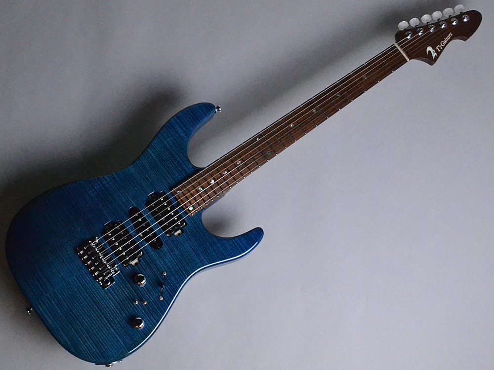 T's Guitars DST24 Custom Made Arctic Blue (AB) ... 写真画像