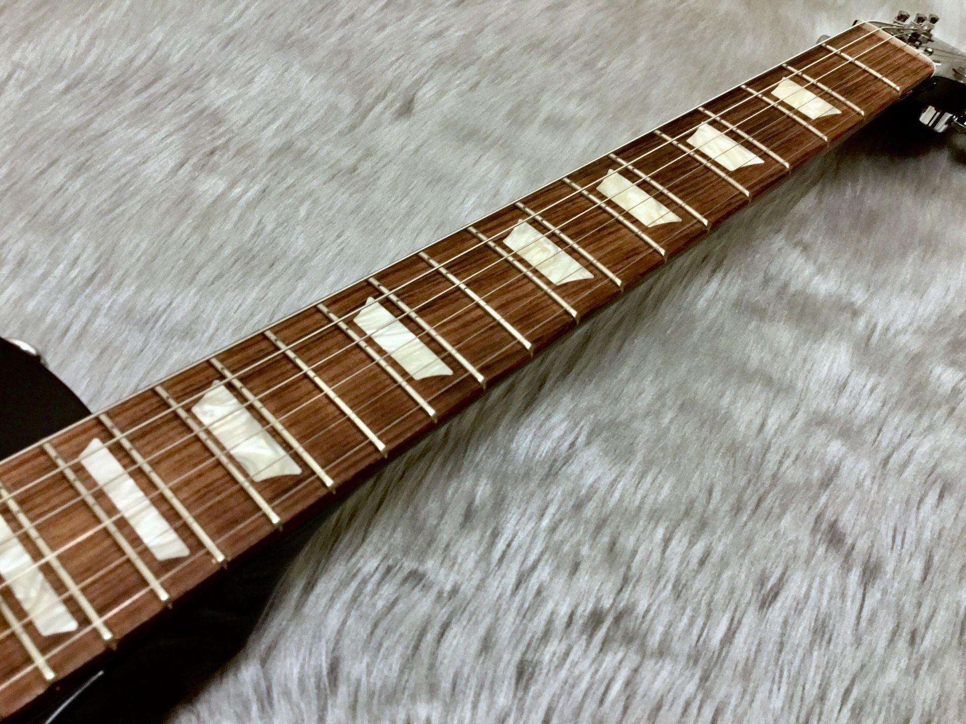 Gibson LesPaul Studio T 2017 Ebonyの指板画像