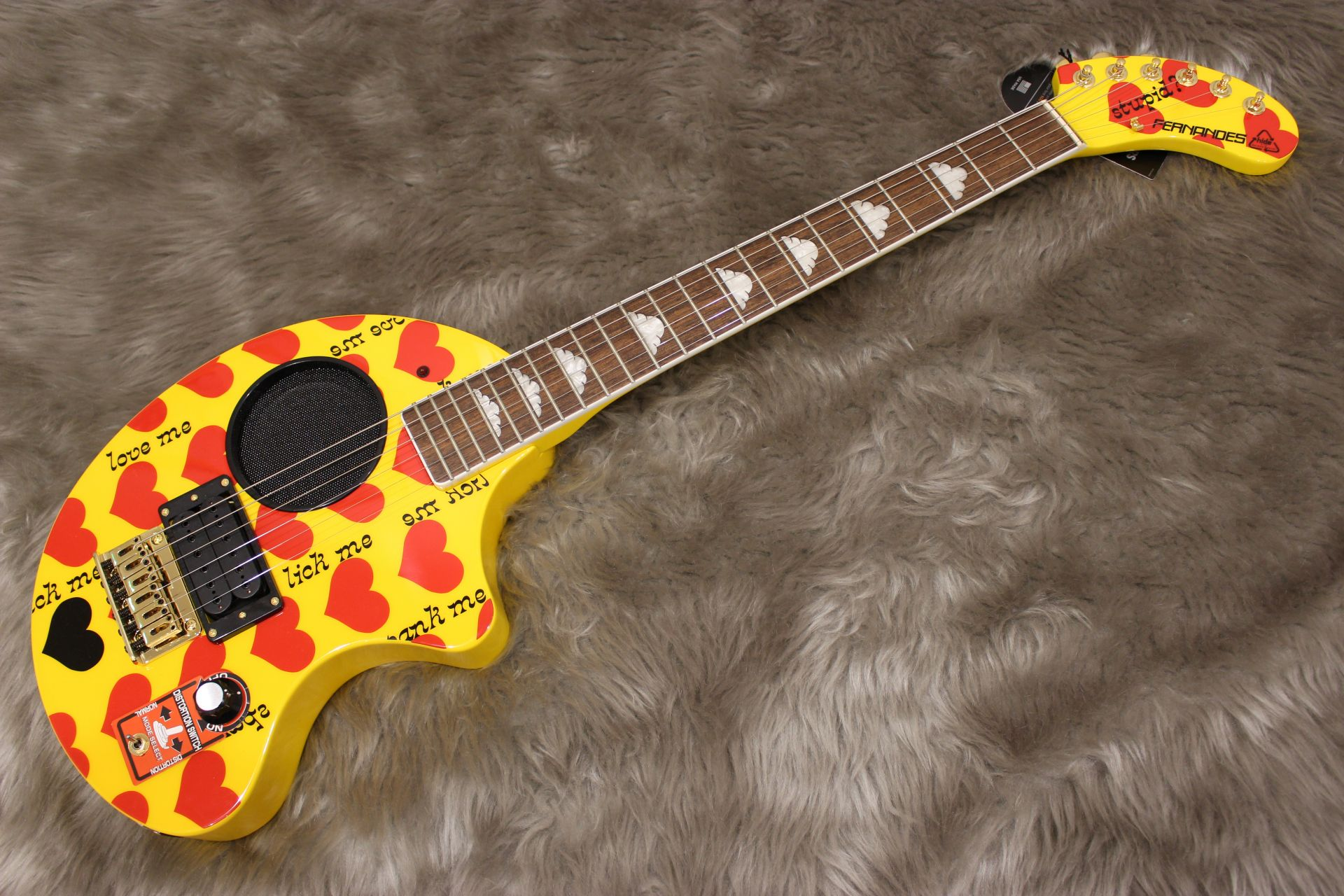 FERNANDES  YELLOW HEART ZO 写真画像