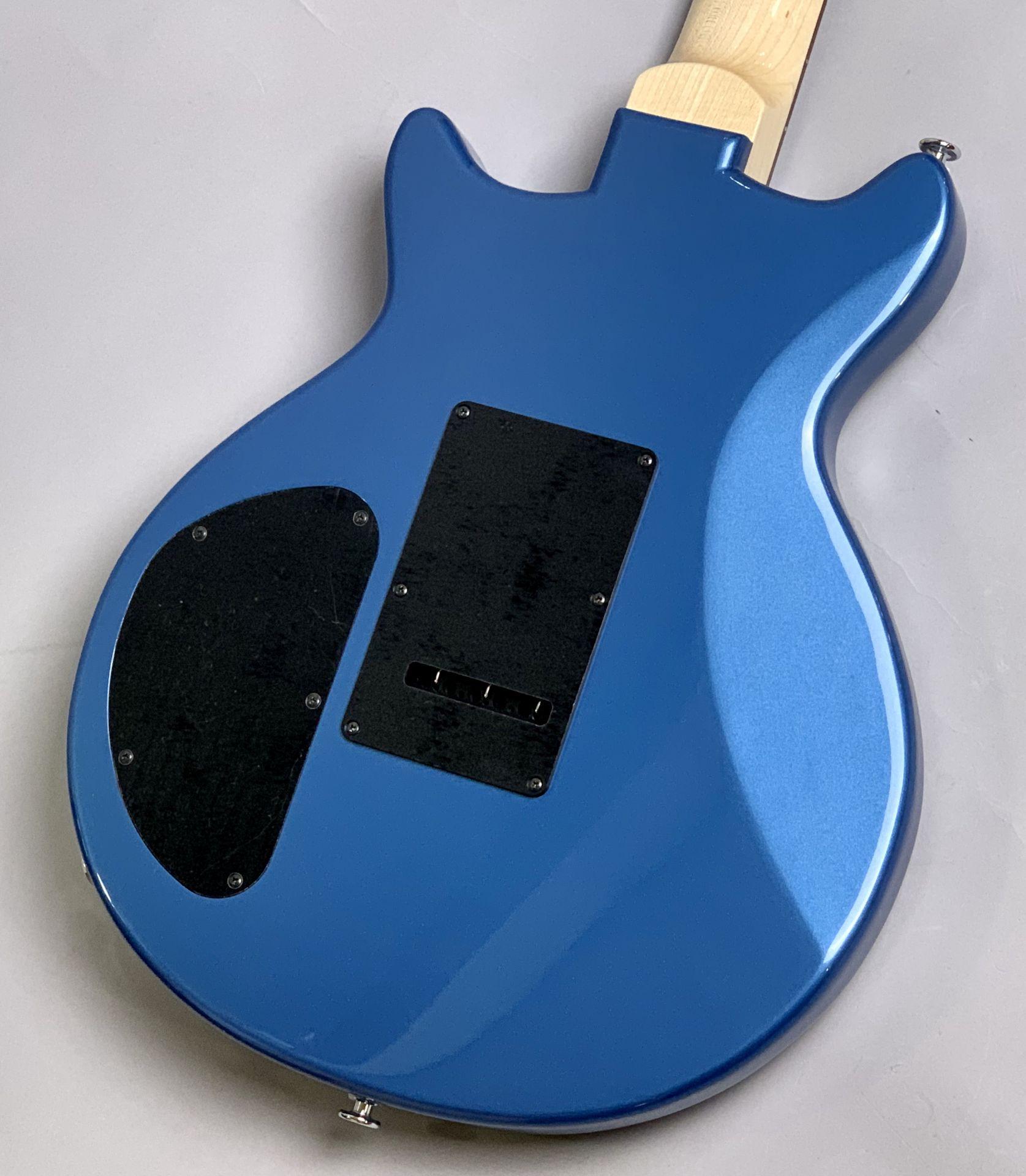 Kz One Junior SSD10 Synchro Lake Placid Blue【新開発ダブルコイル搭載特注モデル】のヘッド裏-アップ画像