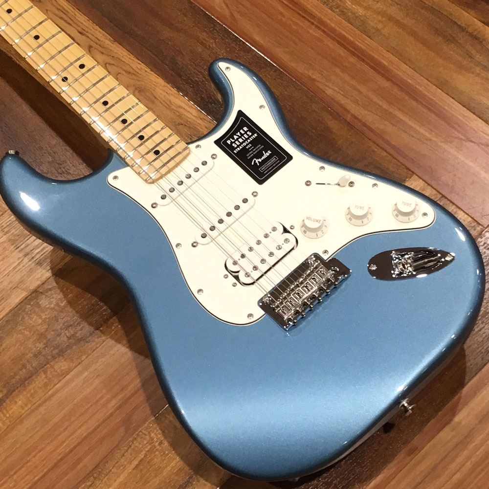 PLAYER STRATOCASTER HSS/Maple/Tidepoolのボディバック-アップ画像