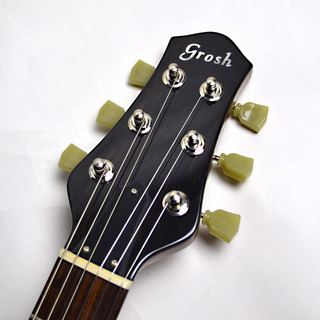 Set Neck Custom Vintage Maple Burstのヘッド画像