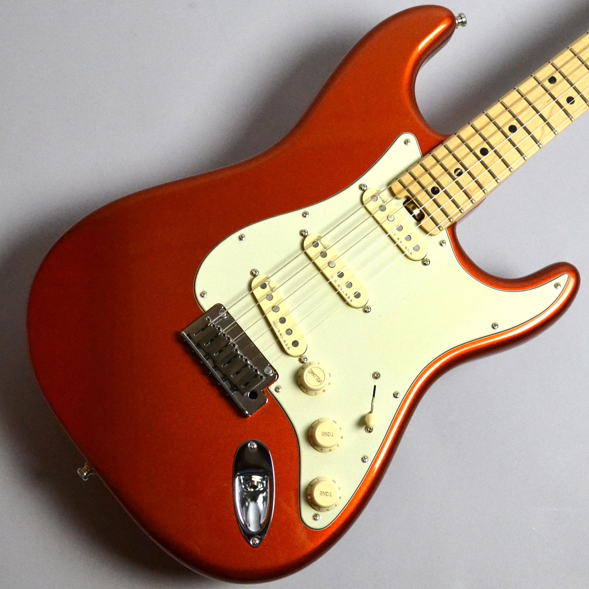 American Elite Stratocaster Maple Fretboard Autumn Blaze Metallic【USED】のボディトップ-アップ画像