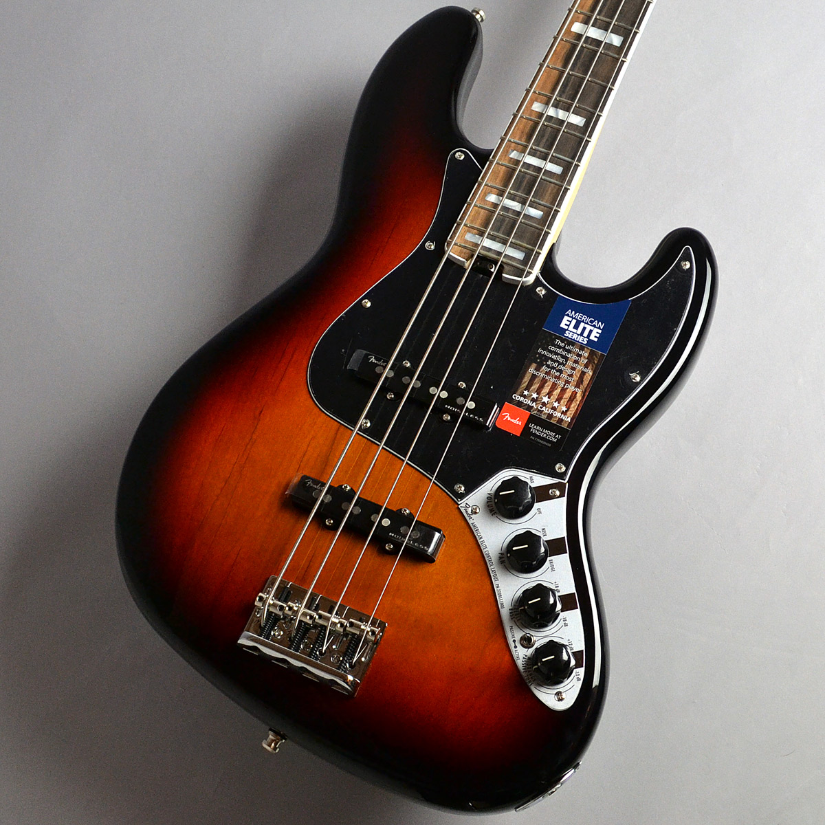 American Elite Jazz Bassのボディトップ-アップ画像