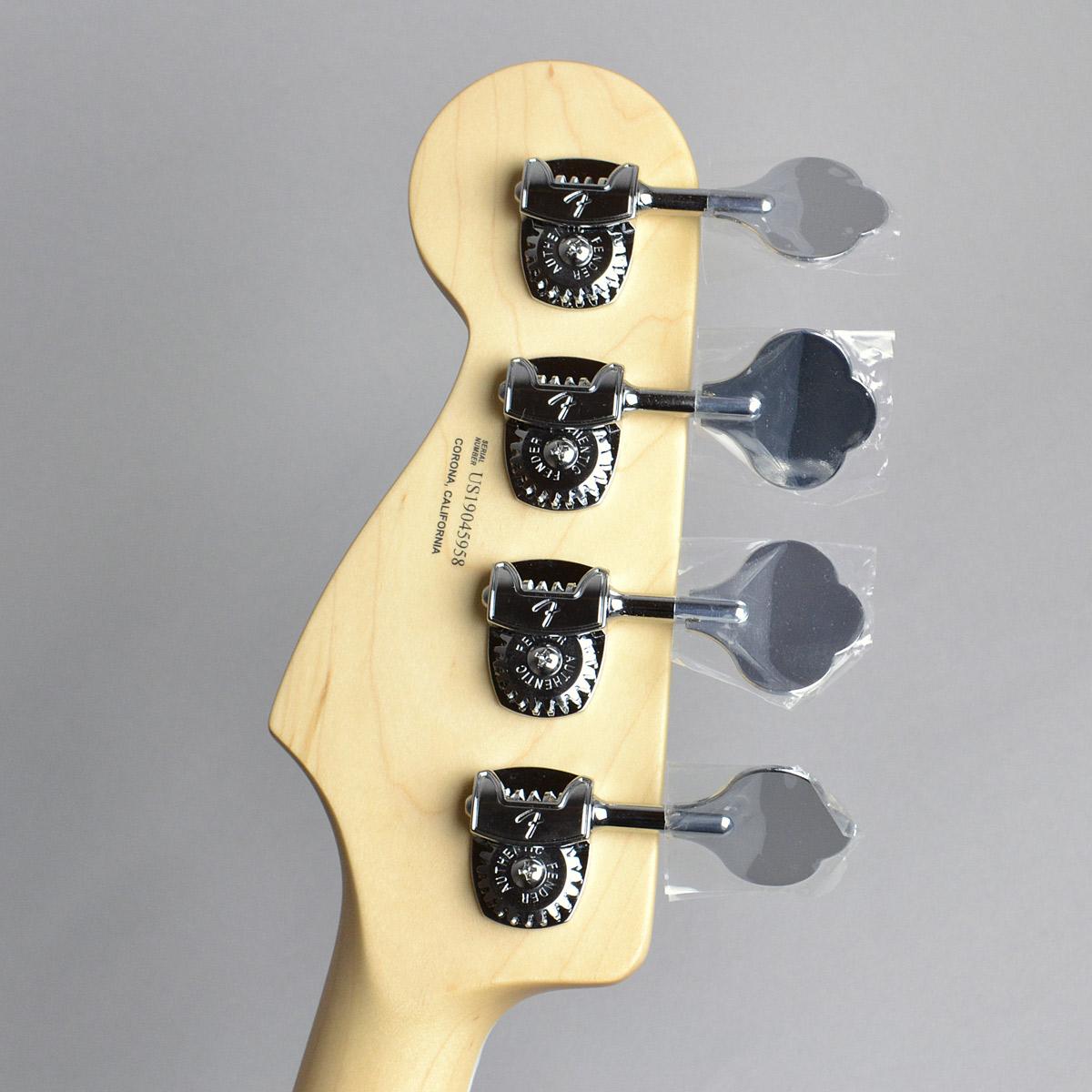 American Elite Jazz Bassのヘッド裏-アップ画像