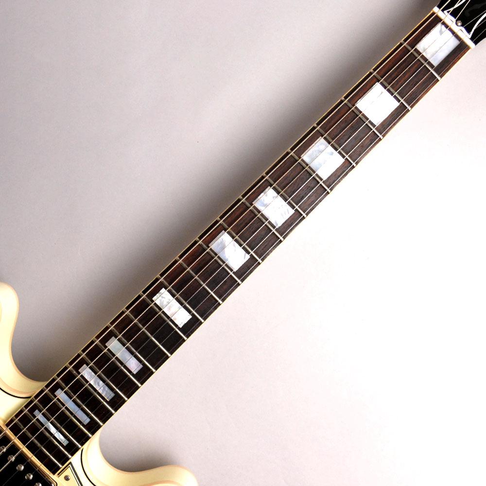 ES-335 Big Block Retro Classic Whiteのヘッド裏-アップ画像
