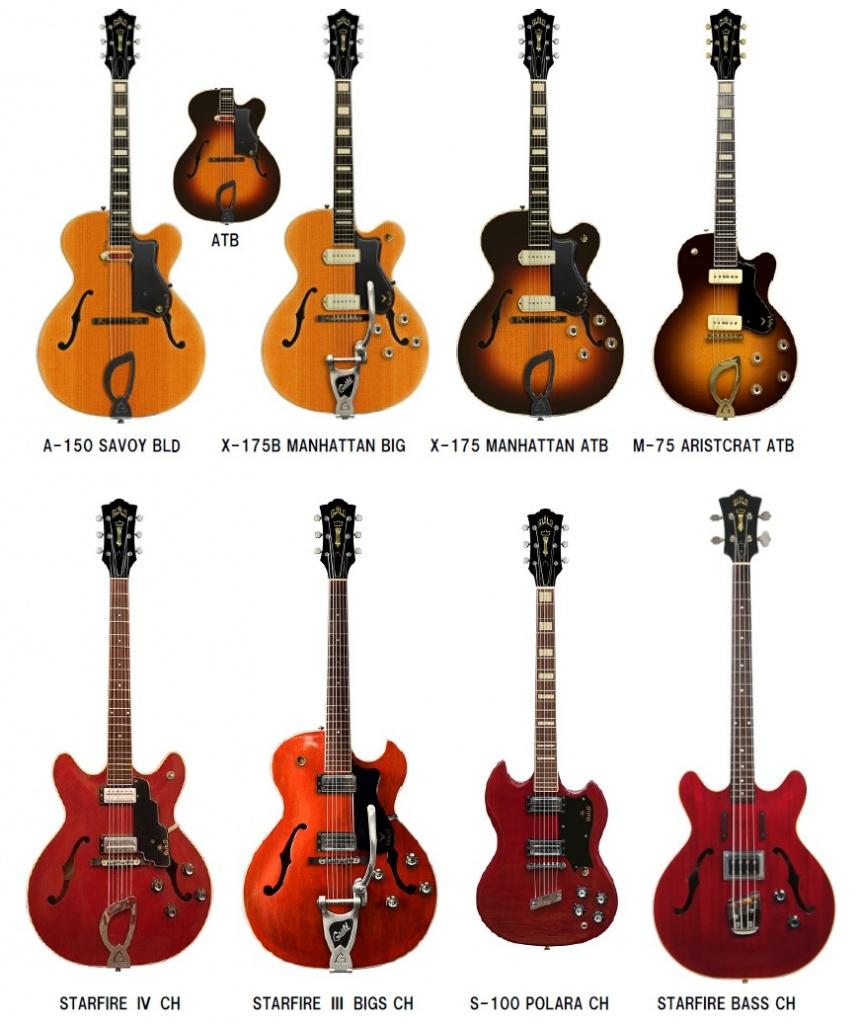 【エレキギター・ベース】GUILDのエレキギター・ベースが復刻!Newark St.™ Collectionシリーズ