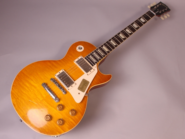 59 Les Paul Whitford Burstの全体画像