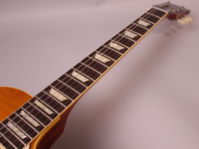 59 Les Paul Whitford Burstの指板画像