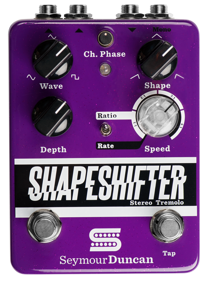 Shapeshifter-Tremolo-Pedal