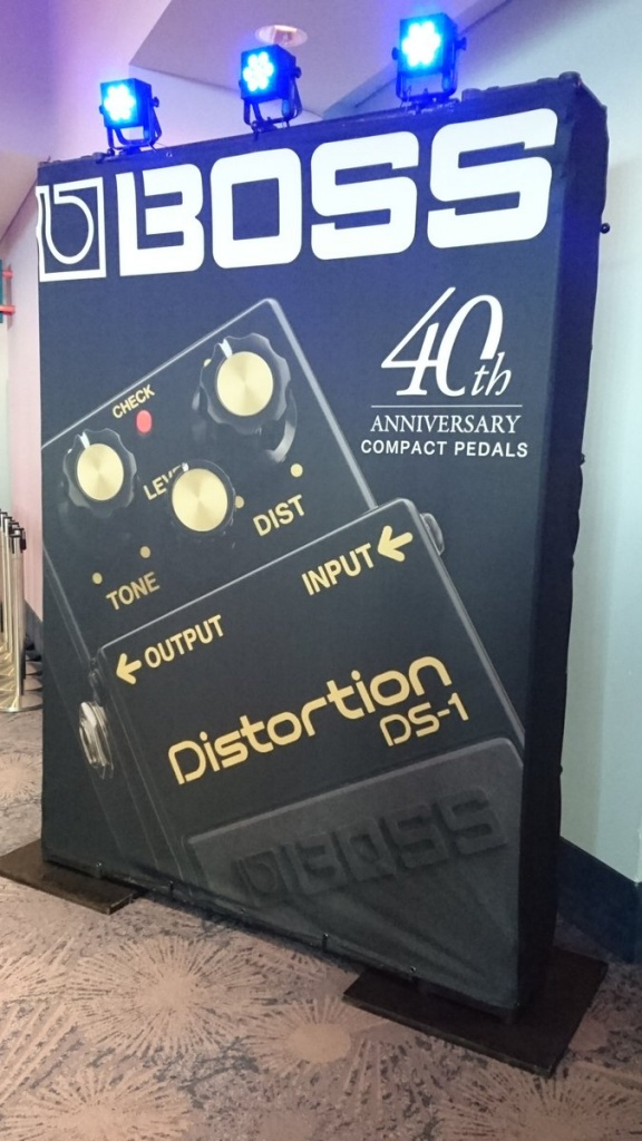 NAMM2017photo1 BOSS DS-1-4A