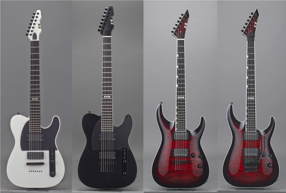 新製品情報【エレキギター】EⅡ 686mmスケールを採用したTEタイプT-B7発売 ~HORIZON FR-II、E-II HORIZON NT-II新色も~