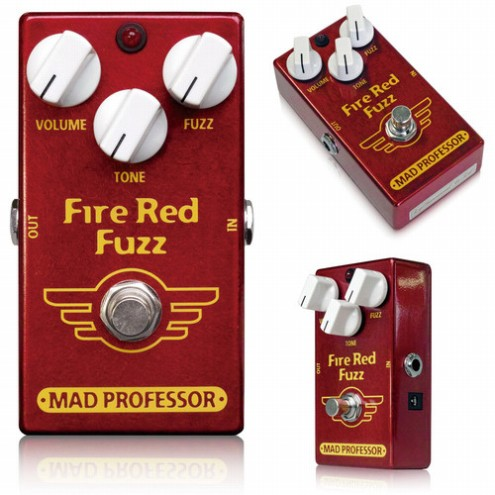 New Fire Red Fuzz
