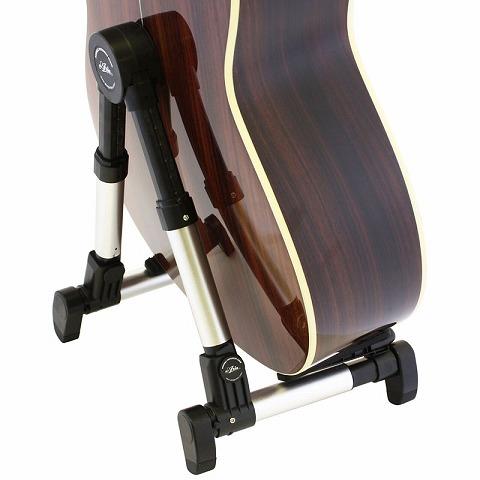 エレキギター~アコースティックギターの厚みまで対応しています。