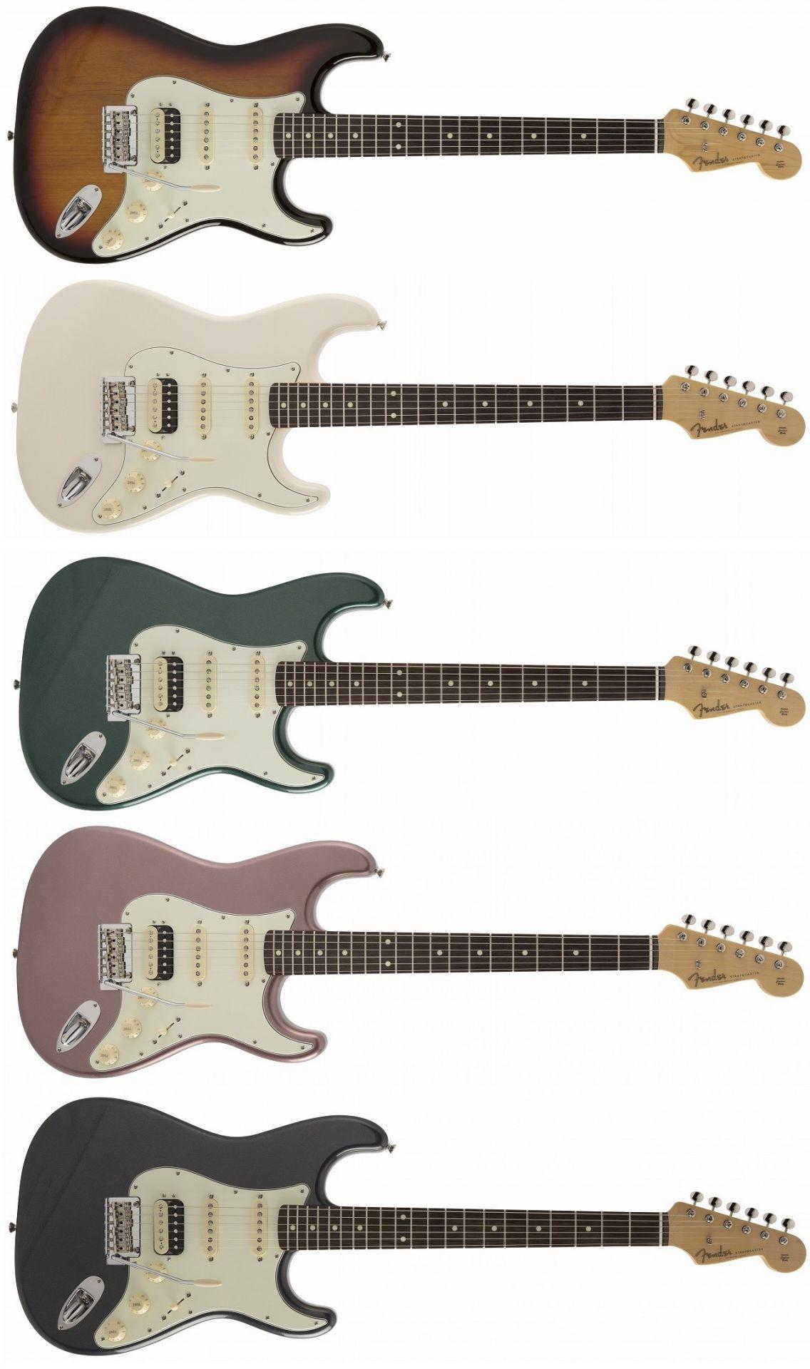 """エレキギター】-Fender-""""Made in Japan Hybrid""""シリーズエレキ"""