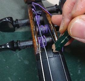 バイオリンのお手入れ