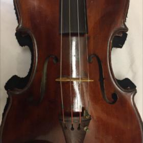 クリーニング後のバイオリン