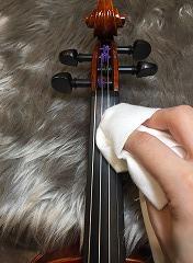 弦楽器の日常メンテナンス